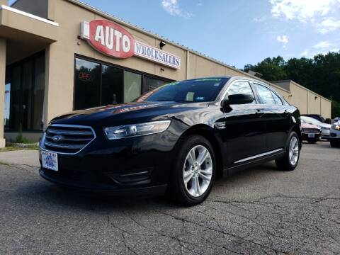 2018 Ford Taurus for sale at Auto Wholesalers Of Hooksett in Hooksett NH