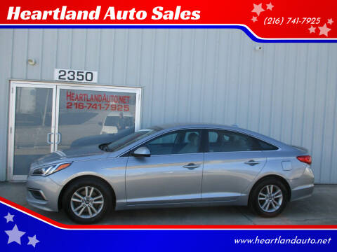2016 Hyundai Sonata for sale at Heartland Auto Sales in Medina OH