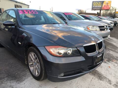 2006 BMW 3 Series for sale at BELOW BOOK AUTO SALES in Idaho Falls ID