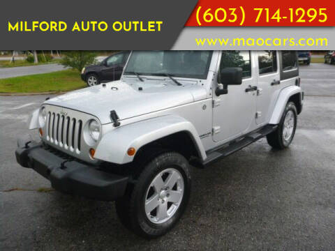 2007 Jeep Wrangler Unlimited for sale at Milford Auto Outlet in Milford NH