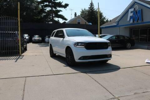 2016 Dodge Durango for sale at F & M AUTO SALES in Detroit MI