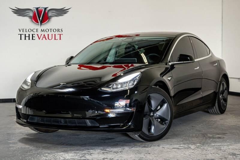 2018 Tesla Model 3 for sale at Veloce Motorsales in San Diego CA