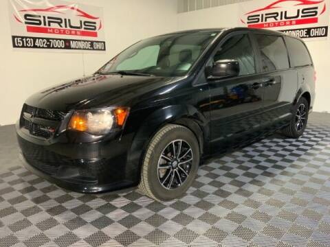2016 Dodge Grand Caravan for sale at SIRIUS MOTORS INC in Monroe OH