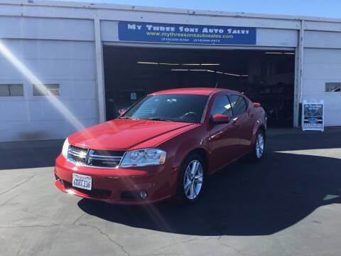2012 Dodge Avenger for sale at My Three Sons Auto Sales in Sacramento CA
