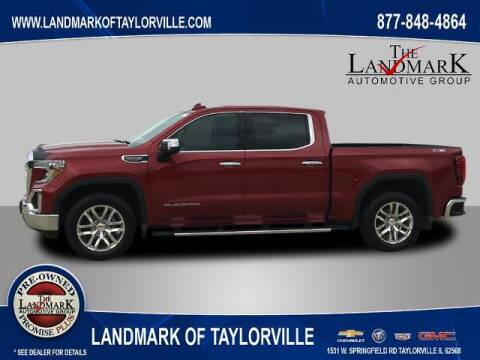 2019 GMC Sierra 1500 for sale at LANDMARK OF TAYLORVILLE in Taylorville IL