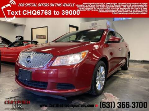 2012 Buick LaCrosse for sale at CERTIFIED HEADQUARTERS in St James NY