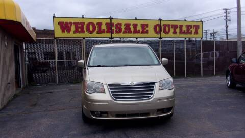2010 Chrysler Town and Country for sale at LONG BROTHERS CAR COMPANY in Cleveland OH