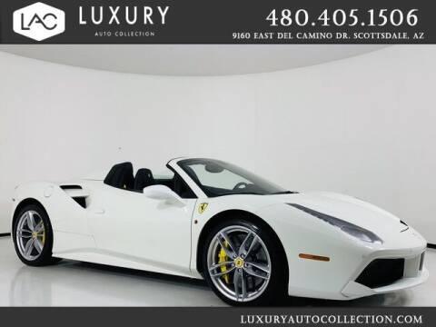 2017 Ferrari 488 Spider for sale at Luxury Auto Collection in Scottsdale AZ