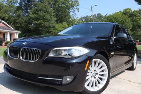 2013 BMW 5 Series for sale at Cobb Luxury Cars in Marietta GA