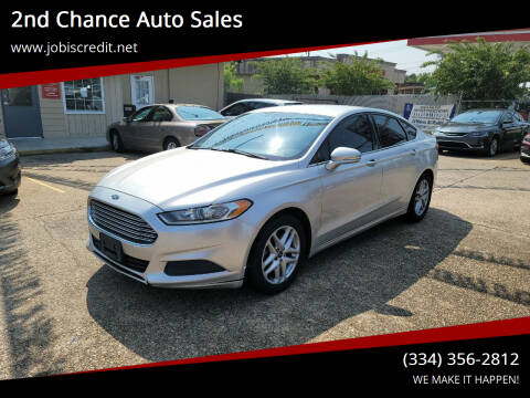 2013 Ford Fusion for sale at 2nd Chance Auto Sales in Montgomery AL