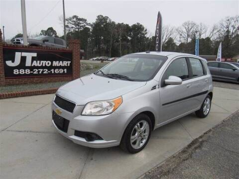 2011 Chevrolet Aveo for sale at J T Auto Group in Sanford NC