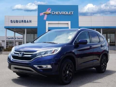 2015 Honda CR-V for sale at Suburban Chevrolet of Ann Arbor in Ann Arbor MI