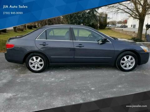 2005 Honda Accord for sale at JIA Auto Sales in Port Monmouth NJ