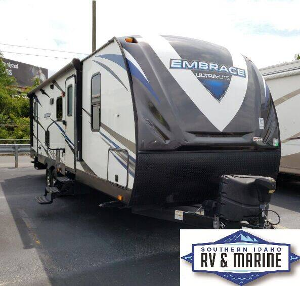 2018 CRUISER EMBRACE ULTRA LITE EL270 for sale at SOUTHERN IDAHO RV AND MARINE in Jerome ID