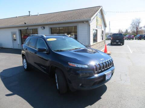 2016 Jeep Cherokee for sale at Tri-County Pre-Owned Superstore in Reynoldsburg OH