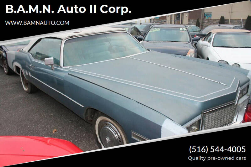 1976 Cadillac Eldorado for sale at B.A.M.N. Auto II Corp. in Freeport NY