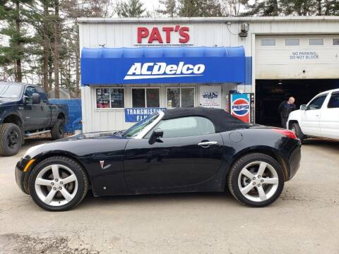2006 Pontiac Solstice for sale at Route 107 Auto Sales LLC in Seabrook NH