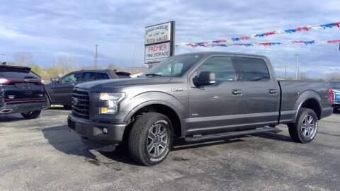 2016 Ford F-150 for sale at Premier Auto Sales Inc. in Big Rapids MI