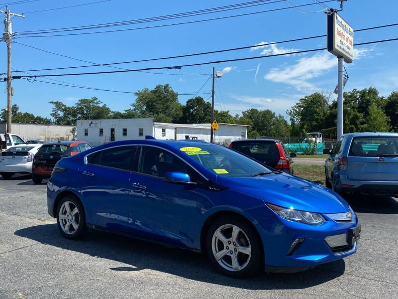 2017 Chevrolet Volt for sale at MetroWest Auto Sales in Worcester MA