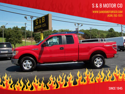 2010 Ford F-150 for sale at S & B MOTOR CO in Danville VA