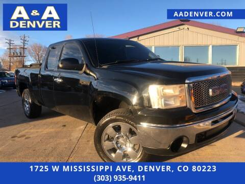 2011 GMC Sierra 1500 for sale at A & A AUTO LLC in Denver CO