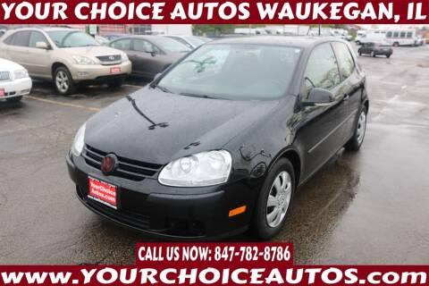 2008 Volkswagen Rabbit for sale at Your Choice Autos - Waukegan in Waukegan IL