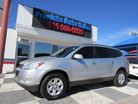 2010 Chevrolet Traverse for sale at Franklin Auto Sales in El Paso TX