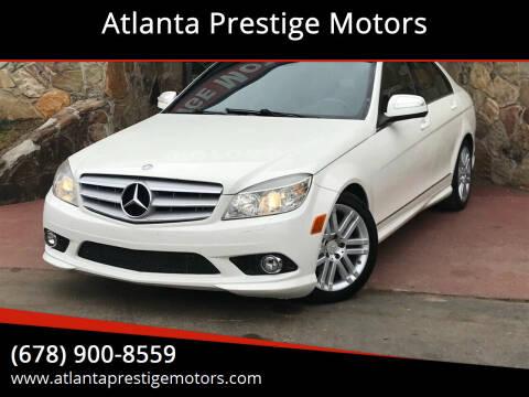 2009 Mercedes-Benz C-Class for sale at Atlanta Prestige Motors in Decatur GA