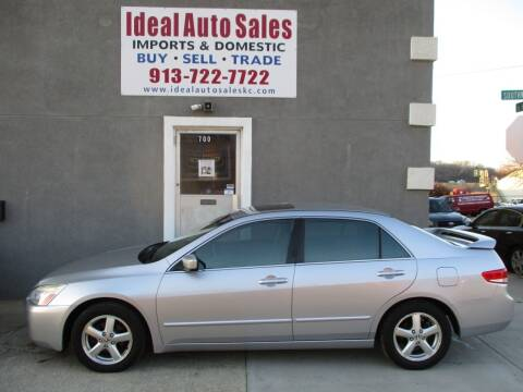 2003 Honda Accord for sale at Ideal Auto in Kansas City KS