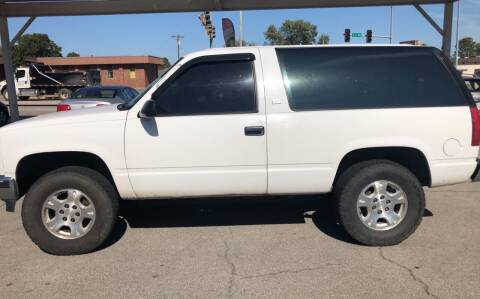 1993 GMC Yukon for sale at Claremore Motor Company in Claremore OK