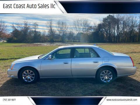 2011 Cadillac DTS for sale at East Coast Auto Sales llc in Virginia Beach VA