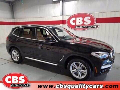 2020 BMW X3 for sale at CBS Quality Cars in Durham NC