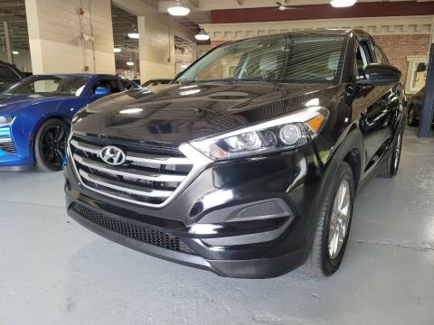 2018 Hyundai Tucson for sale at AW Auto & Truck Wholesalers  Inc. in Hasbrouck Heights NJ