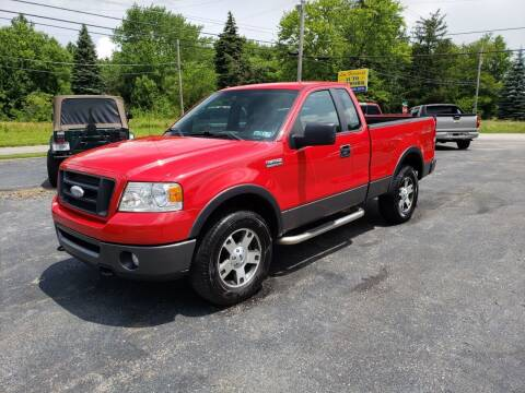 2008 Ford F-150 for sale at Motorsports Motors LLC in Youngstown OH