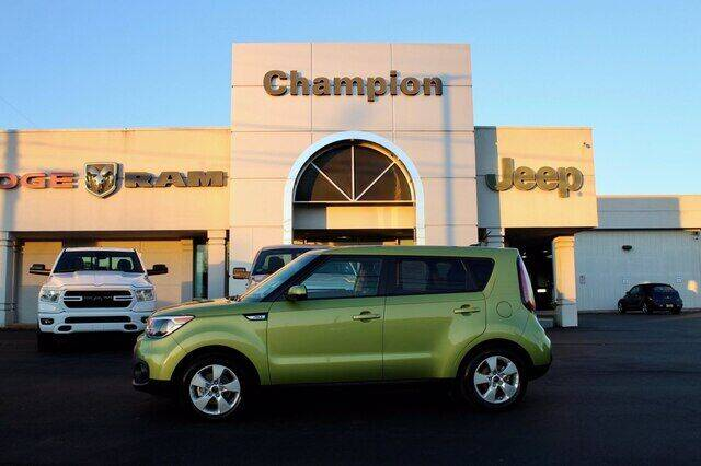 2017 Kia Soul for sale at Champion Chevrolet in Athens AL