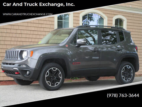 2017 Jeep Renegade for sale at Car and Truck Exchange, Inc. in Rowley MA