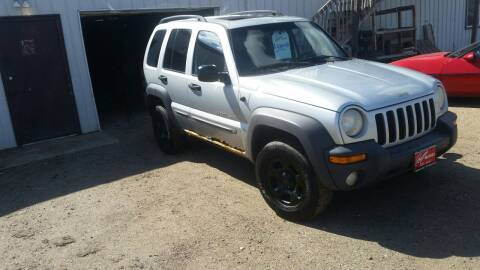 2002 Jeep Liberty for sale at Ron Lowman Motors Minot in Minot ND