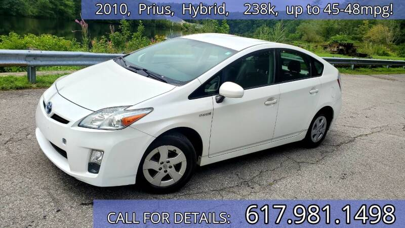 2010 Toyota Prius for sale at Wheeler Dealer Inc. in Acton MA
