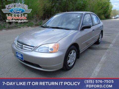 2001 Honda Civic for sale at Fort Dodge Ford Lincoln Toyota in Fort Dodge IA