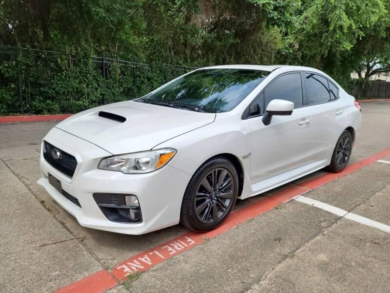 2015 Subaru WRX for sale at DFW Autohaus in Dallas TX