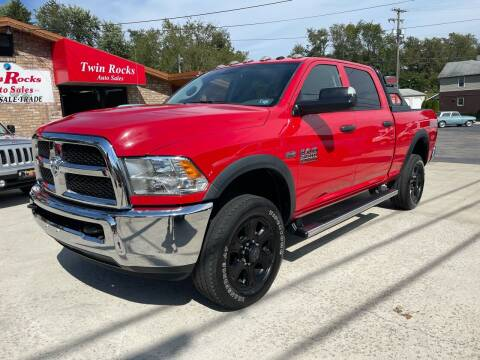 2017 RAM Ram Pickup 2500 for sale at Twin Rocks Auto Sales LLC in Uniontown PA