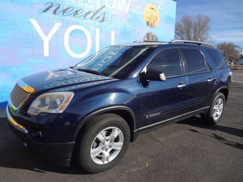 2008 GMC Acadia for sale at FINISH LINE AUTO SALES in Idaho Falls ID