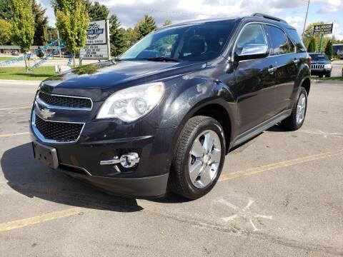 2015 Chevrolet Equinox for sale at Finish Line Auto Sales Inc. in Lapeer MI