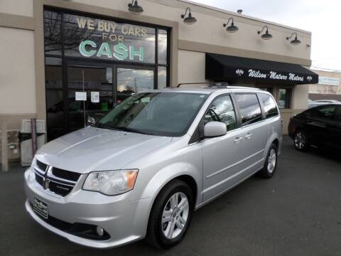2012 Dodge Grand Caravan for sale at Wilson-Maturo Motors in New Haven Ct CT