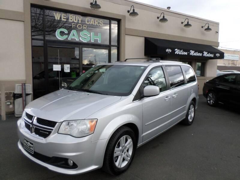 2012 Dodge Grand Caravan for sale at Wilson-Maturo Motors in New Haven Ct CT