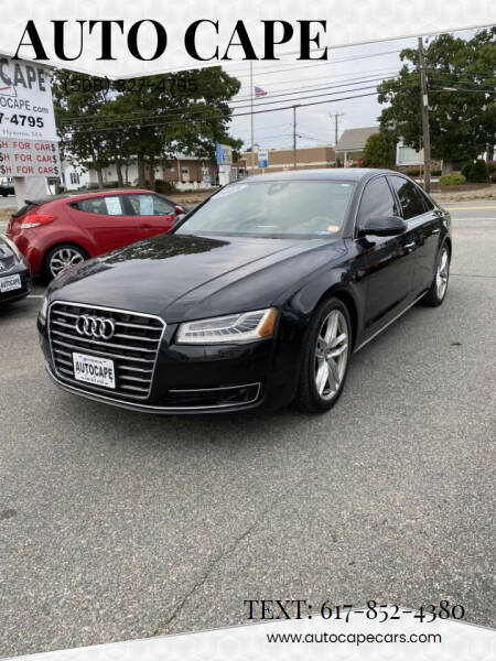 2015 Audi A8 for sale at Auto Cape in Hyannis MA