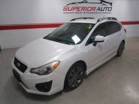 2012 Subaru Impreza for sale at Superior Auto Sales in New Windsor NY