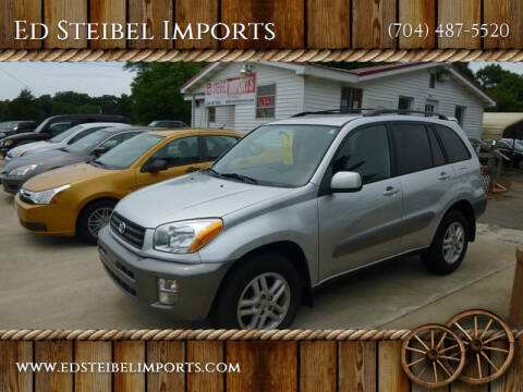 2001 Toyota RAV4 for sale at Ed Steibel Imports in Shelby NC