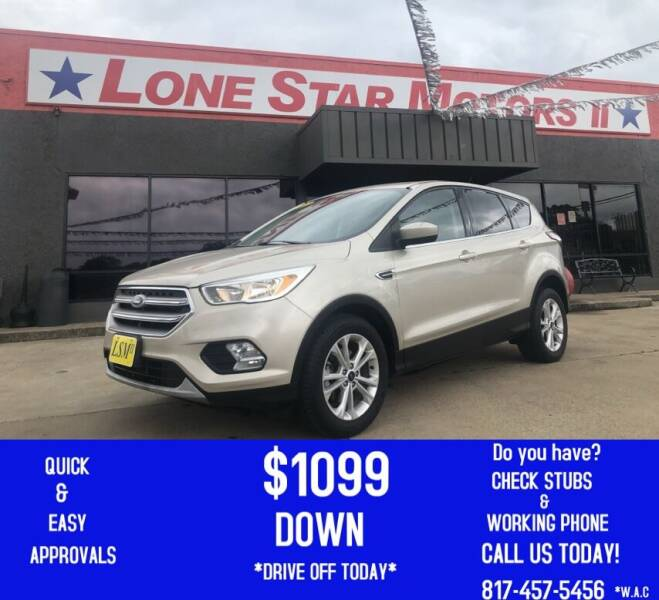 2017 Ford Escape for sale at LONE STAR MOTORS II in Fort Worth TX