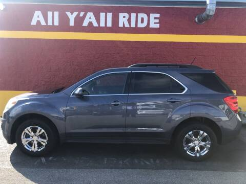 2013 Chevrolet Equinox for sale at Big Daddy's Auto in Winston-Salem NC